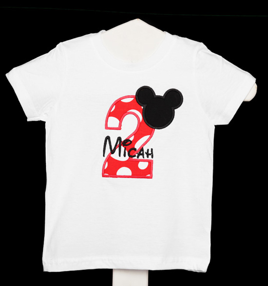 I'm Twodles Birthday Shirt, Mickey Mouse Birthday Party, Second birthday, Boys, Custom, Any Age