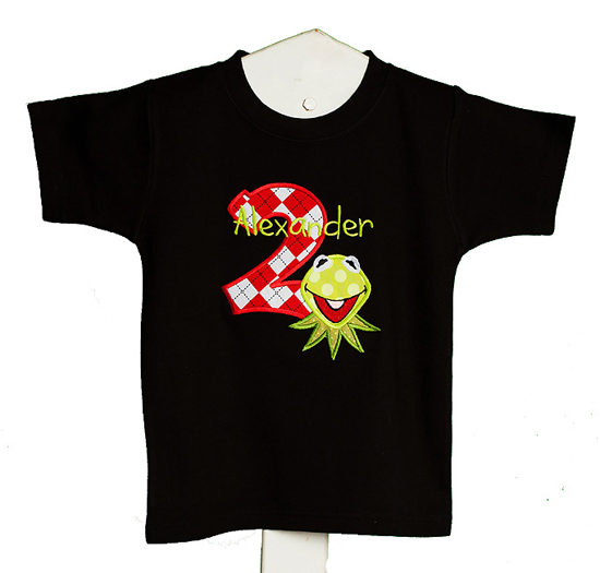 Boys Kermit Birthday Shirt
