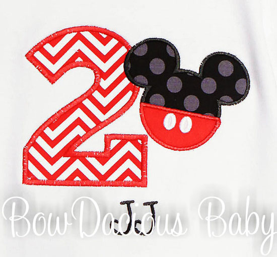 Mickey Birthday Shirt, Any Age