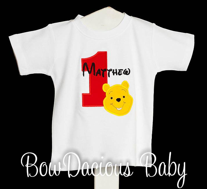 Pooh Birthday Shirt, Winnie the Pooh Birthday Shirt, Custom Winnie the Pooh Birthday Shirt
