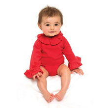*Upgrade* Ruffle Neck/Sleeve Onesie, 6 Colors to Choose From