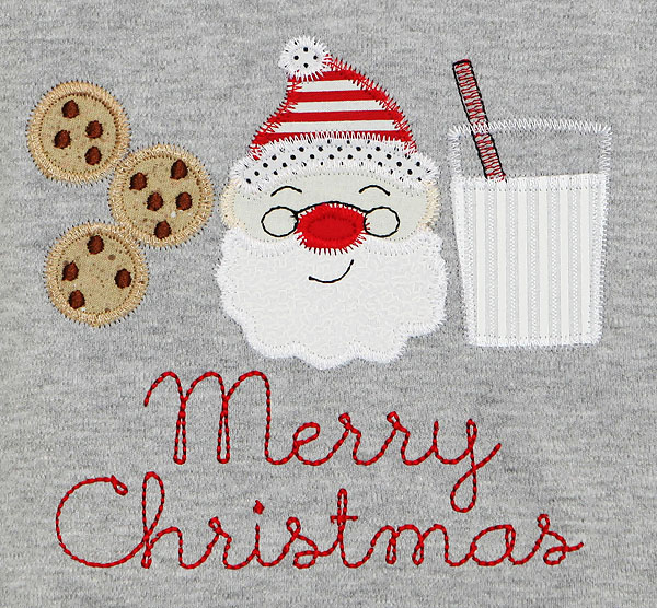 Christmas Shirt, Milk and Cookies Santa Shirt, Custom
