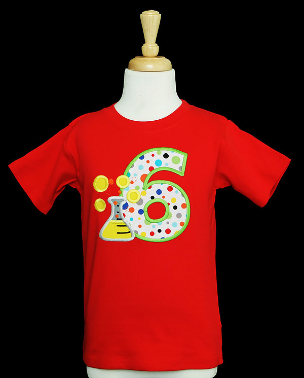 Science Birthday Theme Shirt, Any Age, Let's Do Science Tee, Any Colors
