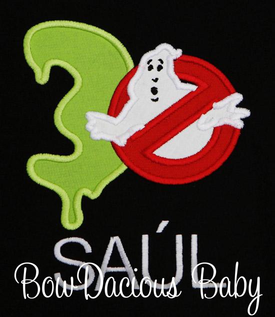 Ghostbusters Birthday Shirt, Ghostbusters Shirt, Ghostbusters Party, Personalized Ghostbusters Shirt, Kids Birthday Shirt, Ghostbusters