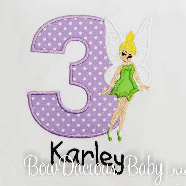 Tinkerbell Birthday Shirt, Custom, Personalized