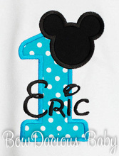Mickey Birthday Shirt, Mickey Mouse Clubhouse Birthday, Custom, Any Age
