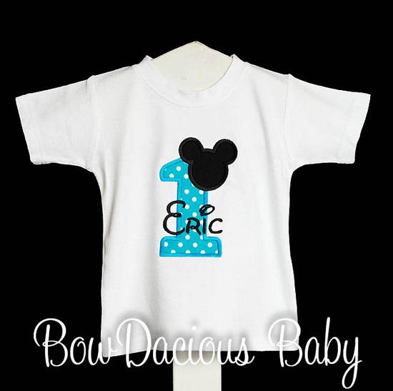 Mickey Birthday Shirt, Mickey Mouse Clubhouse Birthday, Custom, Any Age