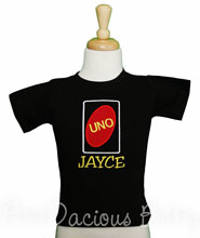 Wild about Uno Birthday Shirt Perfect First Shirt or Onesie, CUSTOM