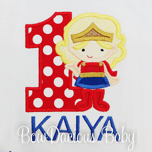 Wonder Woman Birthday Shirt, Girl Hero Birthday Shirt, Birthday Shirt, Wonder Woman Custom Shirt