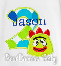 Brobee Birthday Shirt or Onesie, Custom, Any Age
