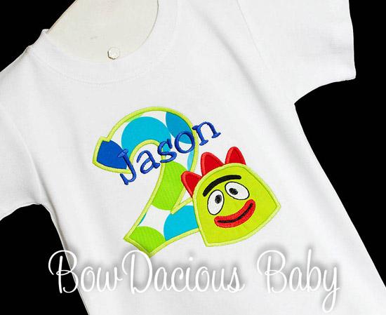 Brobee Birthday Shirt or Onesie, Custom, Any Age
